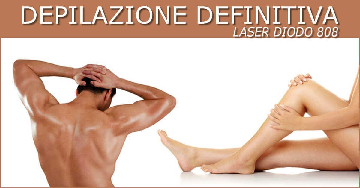 luce pulsata o laser per viso
